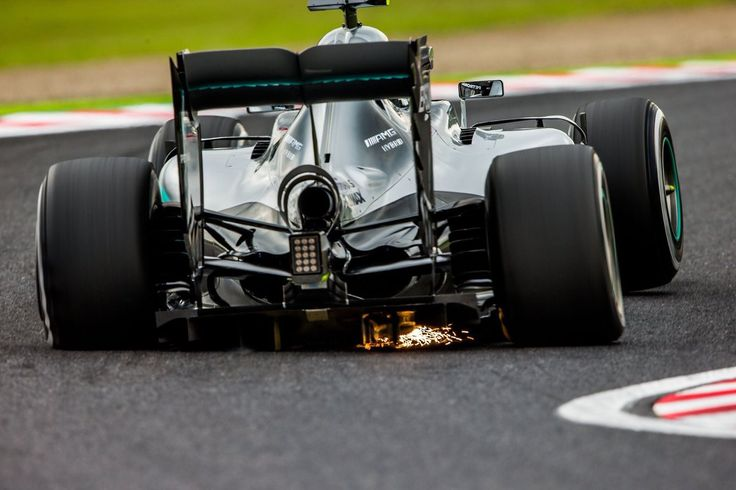 check out the forces on our F1 car! unbelievable!!!