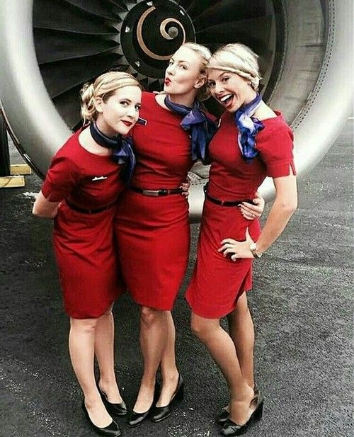 Shared by Just_Belle. Find images and videos about pinterest, stewardess and flight attendant on We Heart It - the app to get lost in what you love.