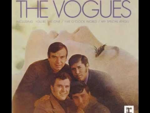 The Vogues-My Special Angel  (I sing this to my 'special' son and tell him this song is about him.)
