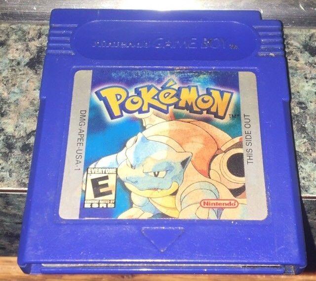 Pokemon: Blue Version (Nintendo Game Boy, 1998) Game Cartridge