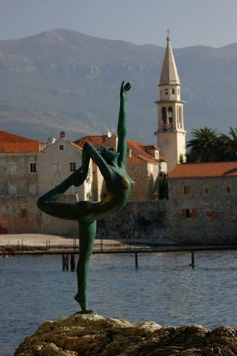 Montenegro – Budva, Old Town.
