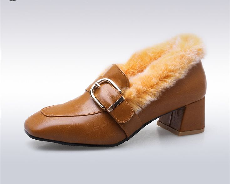 Like and Share if you want this  Women's Winter Pumps Mid Heel Rabbit Fur Loafers Buckle Square Toe Warm Shoes     Tag a friend who would love this!     FREE Shipping Worldwide     Get it here ---> https://kulshei.com/womens-winter-pumps-mid-heel-rabbit-fur-loafers-buckle-square-toe-warm-shoes/