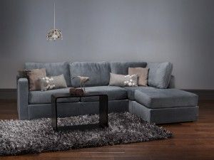LoveSac Chaise Sectional Seawater  gotta love a gray(Ish) couch