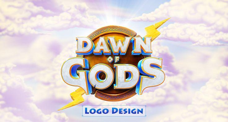 Dawn Of Gods Logo on Behance