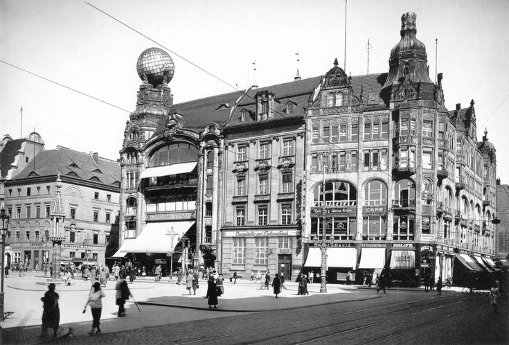 Early 20th century Department Stores, Breslau, Prussia (now Wrocław, Poland)