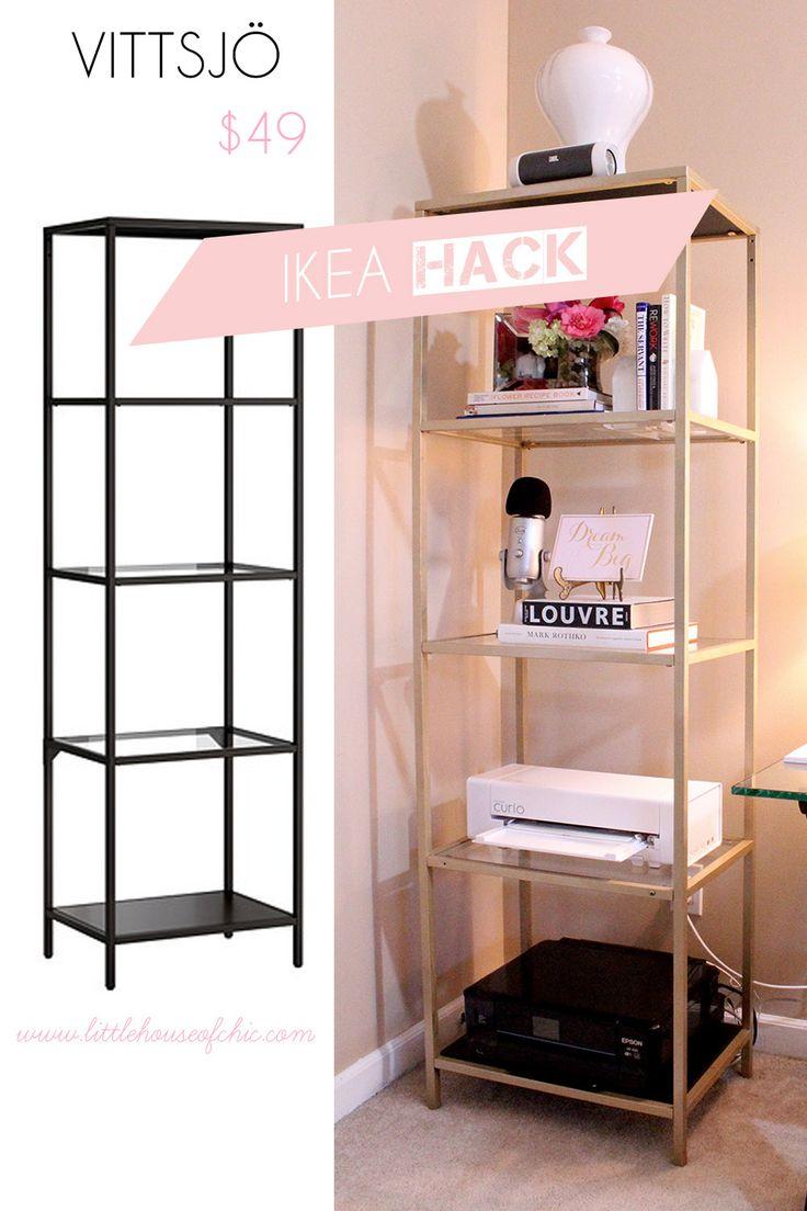 Ikea Hack - VITTSJÖ - Little House of Chic