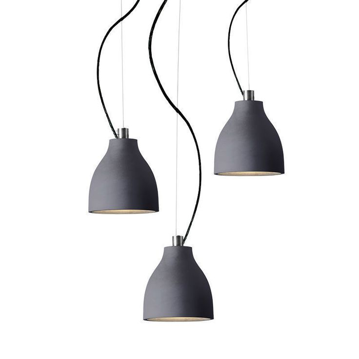 3 Lights Pendant Concrete Ceiling Lamp Adjustable Fixtures Dining Lighting in Home & Garden, Lighting, Fans, Pendant Lighting | eBay!