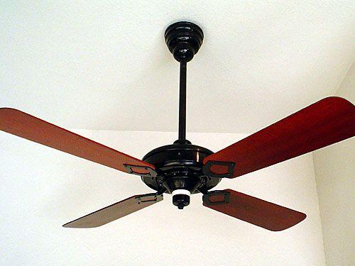 "1927-30c. Westinghouse Electric & MFG. Company, Springfield, MA.,U.S.A., 52"" Antique Ceiling Fan"
