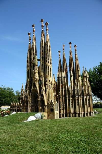 Sagrada Familia, Barcelona, Spain, Picture Archive : Minimundus : Ausflug : Klagenfurt : Kärnten