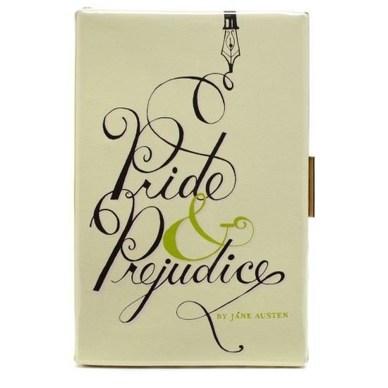 Pride and Prejudice Book Clutch ($325) — gifts for writers