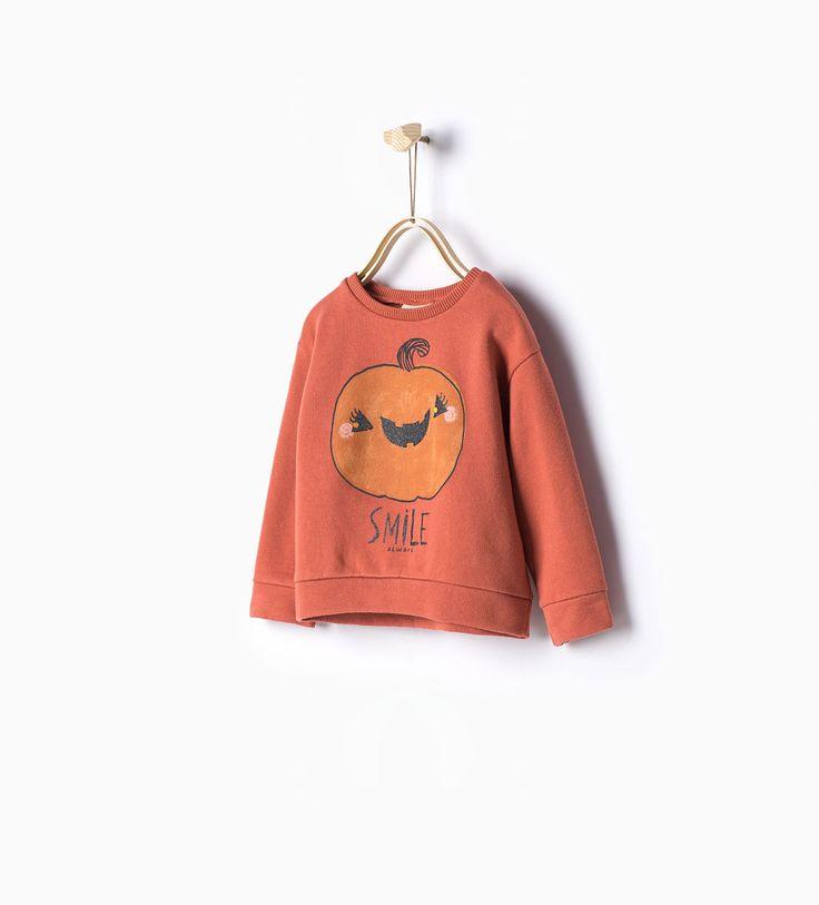 ZARA - PROMOCIJA - Pumpkin sweatshirt