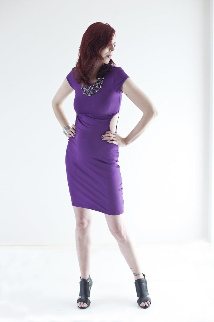 Lurap Purple Dress #MyStyle #Fashion #PsStyle