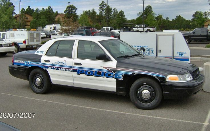 City of Flagstaff (AZ) Police P2178 Ford CVPI Slicktop