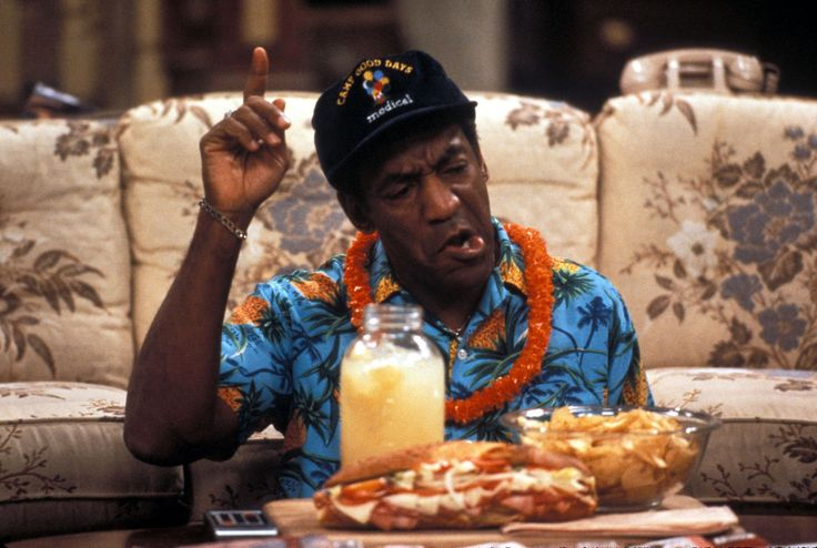 I cannot live if The Cosby Show is taken away.