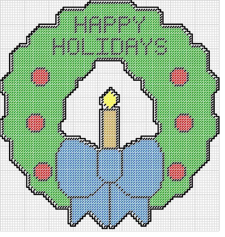 Christmas Ornaments Cross Stitch Patterns