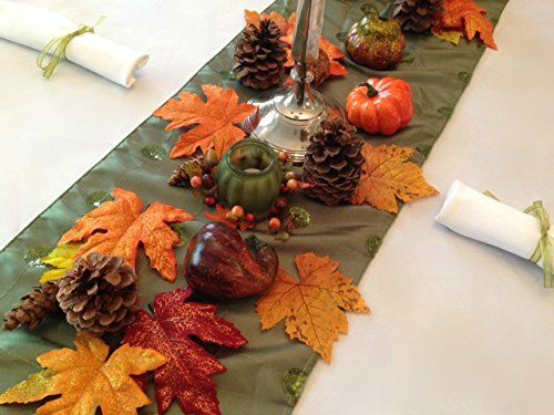 Thanksgiving Tablecloth, Napkins And Decorative Fall Sett... Https://www