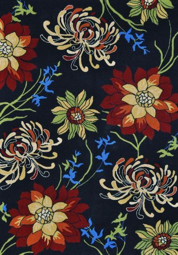 Floral designs into true designer looks that will brighten a pool, patio, or living room. With vivid punches of color and bold, overscaled florals, rugs in the Sunshine Collection quite literally will offer an extreme makeover for the indoor/outdoor category.