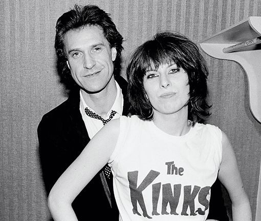 Ray Davies and Chrissie Hynde                                                                                                                                                                                 More