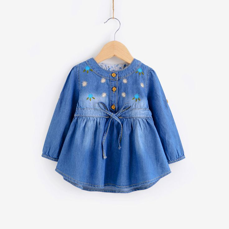 >> Click to Buy << Denim Jacket Jeans Fashion Baby Cardigan Casacos Polares Menina Infant Jacket Newborn Coat Female Autumn Outerwear Babies 60D006 #Affiliate