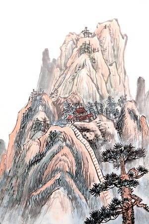 Resultado de imagen para vectores con paisajes chinos