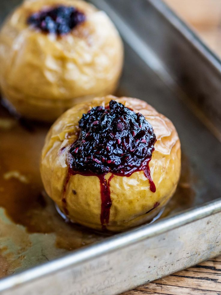 Baked stuffed apples by William Drabble