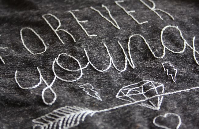 Vous souhaitez réaliser un tee-shirt personnalisé avec un motif de votre création ? http://www.modesettravaux.fr/comment-broder-un-tee-shirt/