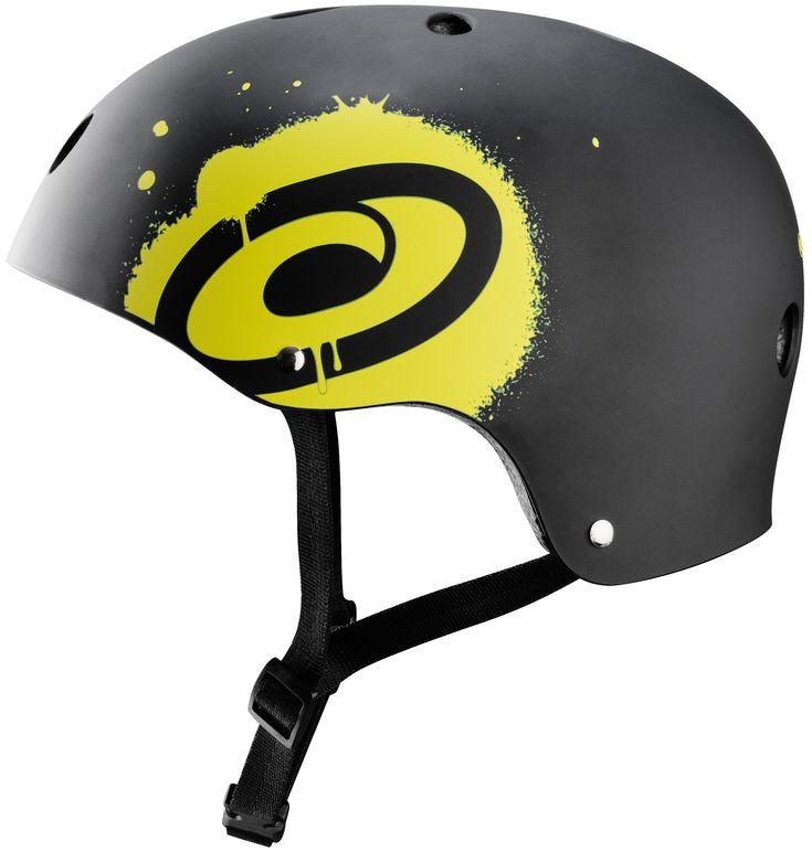 De Osprey helm beschermt je niet alleen bij het skien maar ook bij het skateboarden, waveboarden en inline skaten. De helm heeft een aerodynamische ventilatie design met aan de binnenzijde een comfortabele voering voor een prettig draagcomfort. De sluiting is verstelbaar. De zwarte Osprey helm maat L is geschikt voor hoofdomvang 58-60 cm.   Afmeting: volgt later.. - Helm Osprey zwart