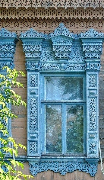 Russian wooden house Vologda