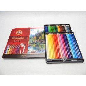 Akvarelové pastelky Koh-i-noor umělecké 48ks Mondeluz 3713