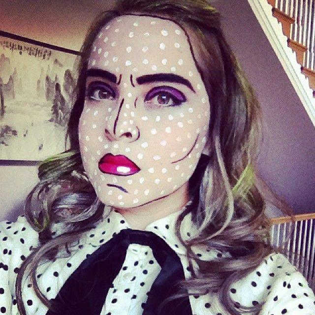 halloween pop art costume - Art Costumes Halloween