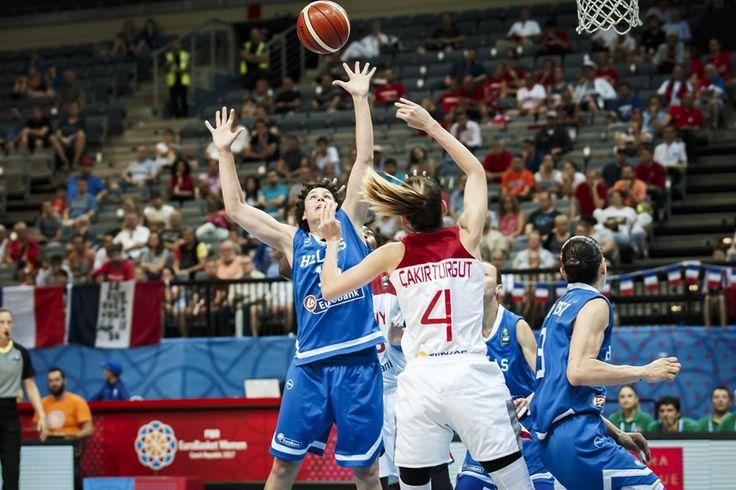 Greece - FIBA EuroBasket Women 2017 - FIBA.basketball