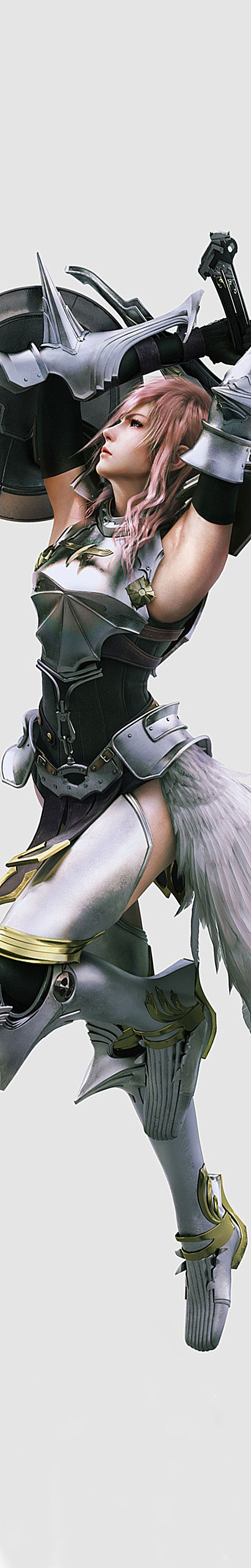 Lightning Farron. Just being the awesome heroine that she is.