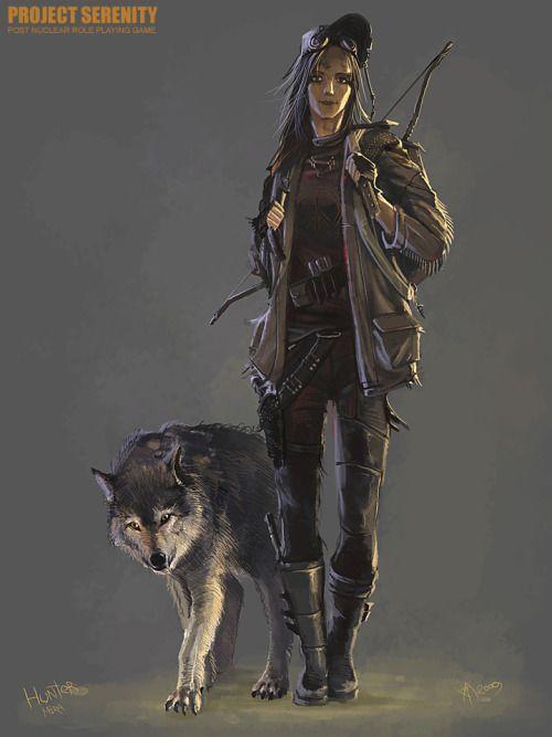 sekigan:  MIra the Hunter by Weilard on DeviantArt