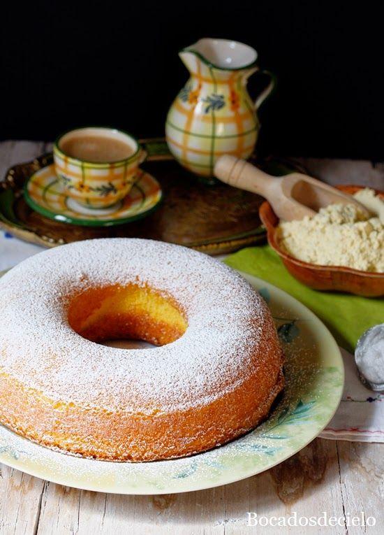 Bizcocho de maíz de Guitiriz. Gastronomía de Galicia
