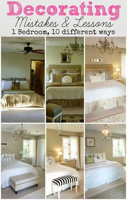 LiveLoveDIY: Master Bedroom Makeover: Our Renovation Before & After - Painting Dark Trim