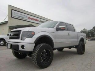 2013 F150 FX4 lifted