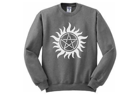 Supernatural Sweatshirt  Many sizes available  by AndroidSheepFTW, $35.00