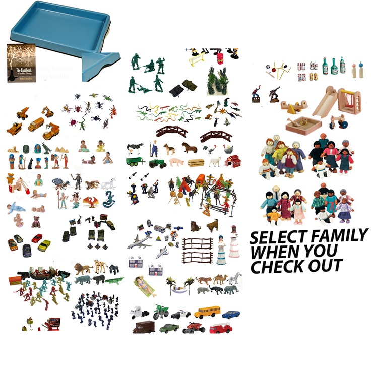 sand tray kit! wow, great value
