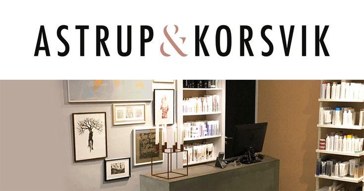 Astrup & Korsvik website, logo, tryksager