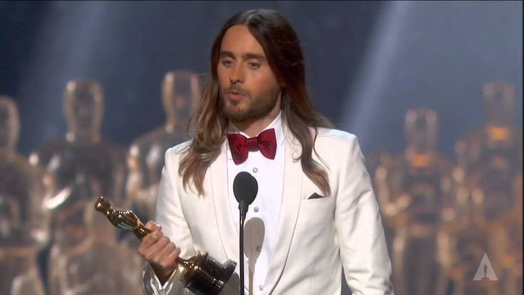 Jared Leto winning Best Supporting Actor | @asifahsankhan via @youtube @jaredleto
