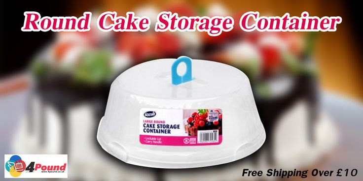 Buy Round Cake Storage Container and Get 50% Off at #4pound