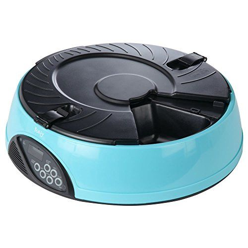 From 22.90 Bunty Automatic 6 Day Meal Pet Dog Cat Feeder Food Bowl Auto Holiday Dispenser
