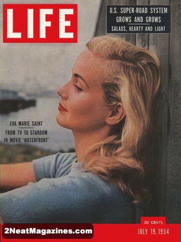 Eva Marie Saint - Life Magazine July, 19, 1954