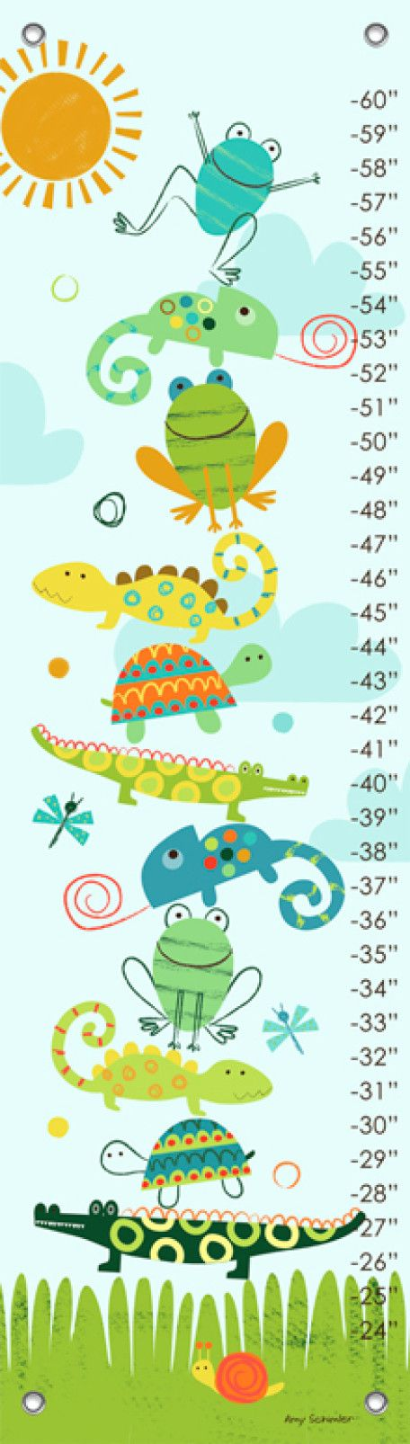 Crawly Critters Growth Charts