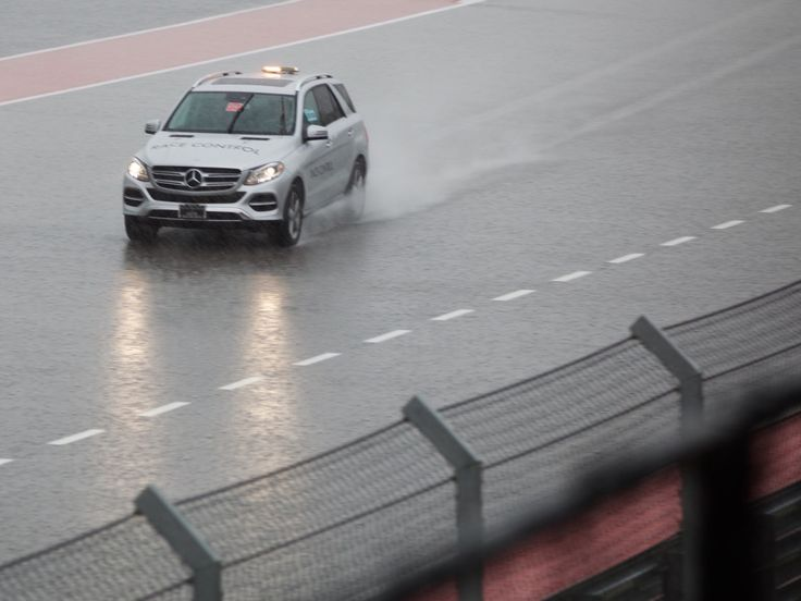 Rough Weather's Threatening America's F1 Race