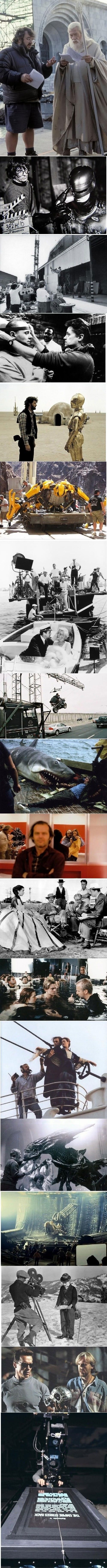 Behind the scenes of classic films
