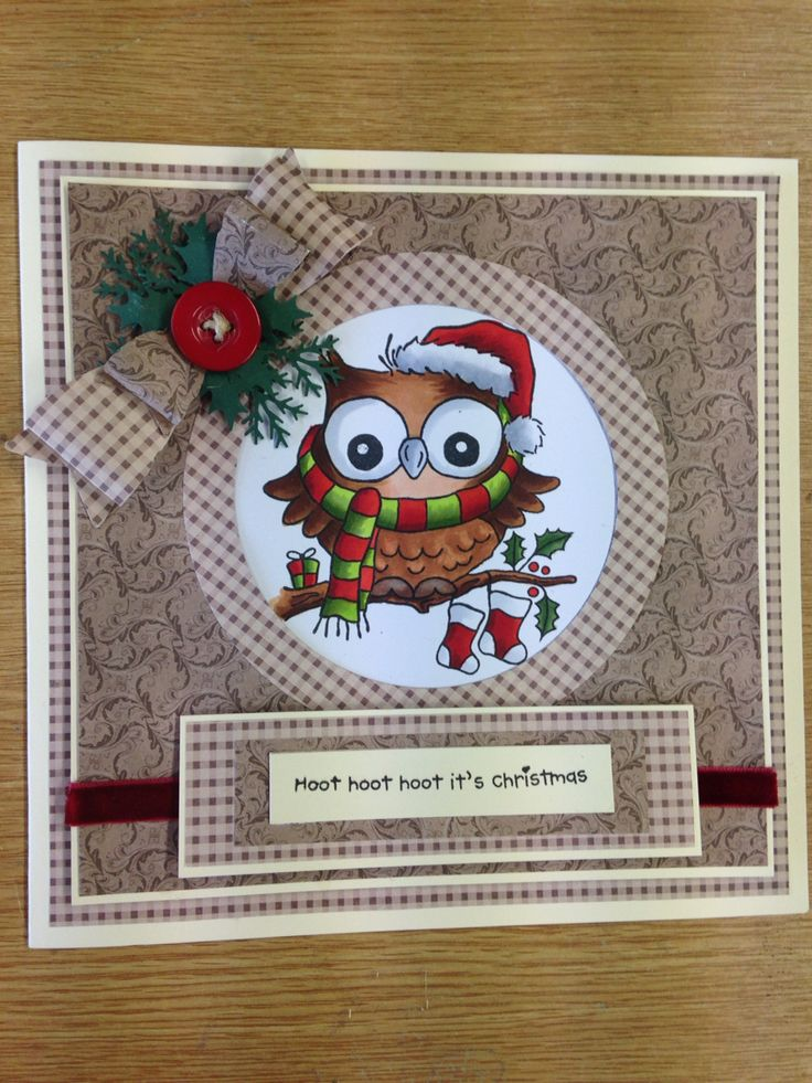 Beautiful Woodware owl lovely to colour with copies