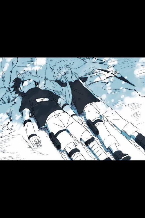 Well damn no wonder sasuke left I would too if I had to deal with this every time I took s nap