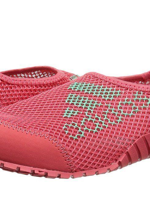adidas Outdoor Kids Kurobe (Toddler/Little Kid/Big Kid) (Easy Green/Tactile  Pink/Easy Green) Girls Shoes