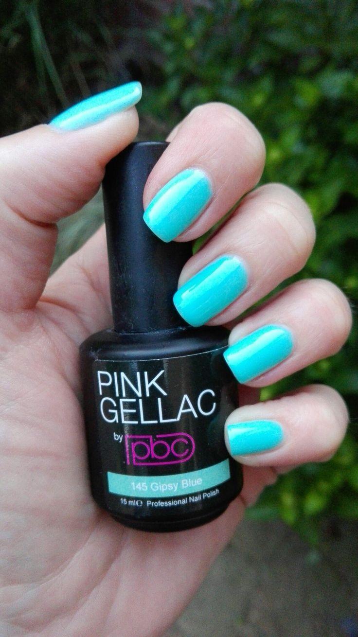 Pink gellac gipsy blue